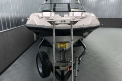 Bow Boarding Ladder of a 2018 Scarab Jet 255 G Jet Boat