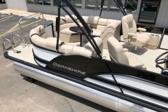 Black and White Exterior of a 2019 Berkshire 23RFX STS Pontoon 5