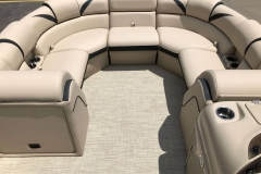 Portable Gate Seat of a 2019 Berkshire 23RFX STS Pontoon