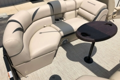 Port Side Stern Seating of a 2019 Berkshire 23RFX STS Pontoon