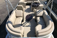 Interior Layout of a 2019 Berkshire 23RFX STS Luxury Pontoon