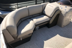 Starboard Side Bow Seating of a 2019 Berkshire 23RFX STS Luxury Pontoon