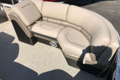 Luxury Interior Furniture of a 2019 Berkshire 23RFX STS Luxury Pontoon