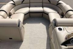 Portable Gate Seat of a 2019 Berkshire 23RFX STS Pontoon