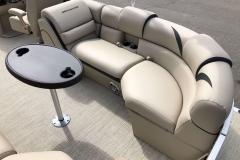 Starboard Side Stern Seating of a 2019 Berkshire 23RFX STS Pontoon