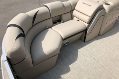 Starboard Side Bow Seating of a 2019 Berkshire 23RFX STS Pontoon