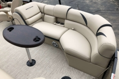 Starboard Side Aft Seating of a 2019 Berkshire 23RFX STS Pontoon