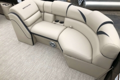Port Side Bow Seating of a 2019 Berkshire 23RFX STS Pontoon