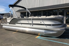 Charcoal and Black  Exterior of a 2019 Berkshire 23RFX STS Pontoon 1