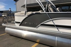 Charcoal and Black  Exterior of a 2019 Berkshire 23RFX STS Pontoon 5