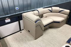 Port Side Bow Seating of a 2019 Berkshire 23SB2 STS Pontoon