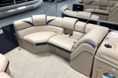 Starboard Side Bow Seating of a 2019 Berkshire 23SB2 STS Pontoon