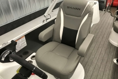 2019-Sylvan-S3-Cruise-Tritoon-High-Back-Captains-Helm-Chair
