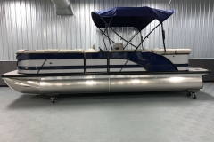 2020-Berkshire-23CL-STS-Tritoon-Boat-Blue-Bimini-Top-2