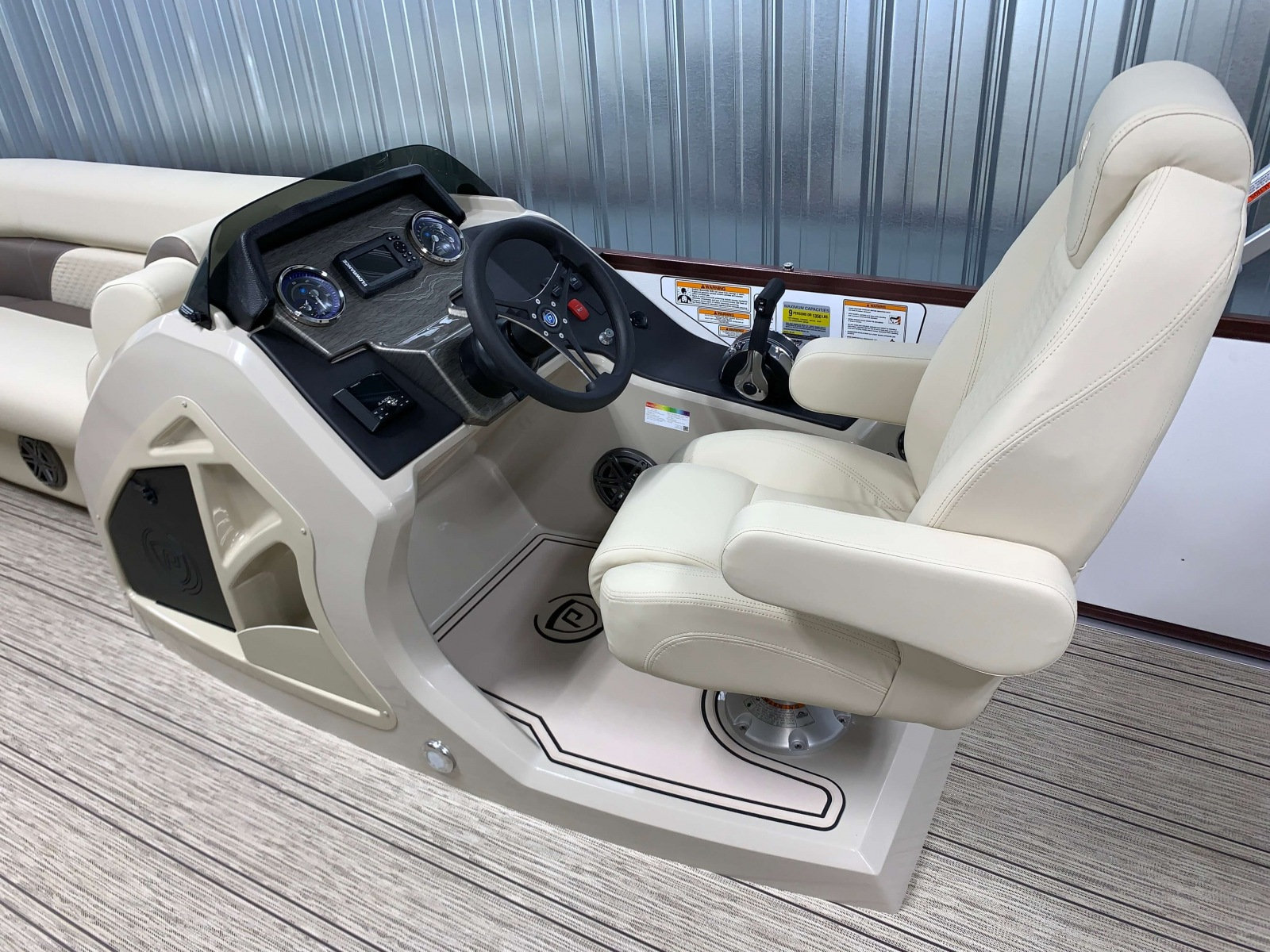 2020-Premier-200-Sunsation-RE-Pontoon-Boat-Raised-Helm