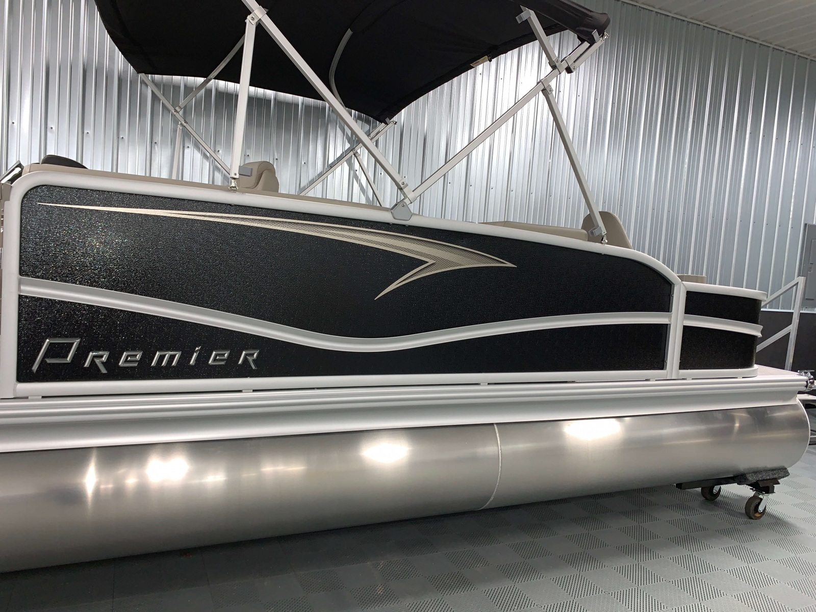 D-Rail Panel Design of a 2020 Premier 220 Gemini Fishing Pontoon