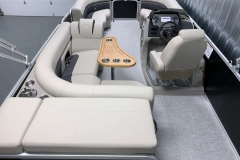 Interior Layout of a 2020 Premier 220 Gemini Fishing Pontoon 2