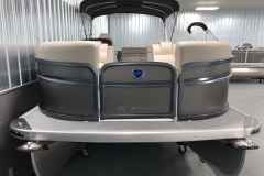 Bow Swim Deck of a 2020 Premier 220 Sunsation RE Pontoon Boat