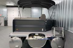 Rear Swim Deck of a 2020 Premier 220 Sunsation RE Pontoon Boat