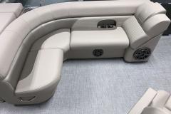 Wraparound Seating of a 2020 Premier 220 Sunsation RE Pontoon Boat