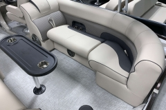 Interior Seating of a 2020 Premier 230 Solaris PTX Tritoon
