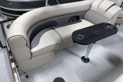 Port Side Rear Seating of a 2020 Premier 230 Solaris PTX Tritoon