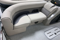 Starboard Side Bow Seating of a 2020 Premier 230 Solaris PTX Tritoon