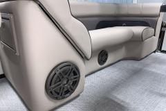 JL Audio of a 2020 Premier 230 Solaris PTX Tritoon