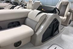 Helm Seat Back of a 2020 Premier 230 Solaris PTX Tritoon