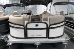 Bow Swim Deck of a 2020 Premier 230 Solaris PTX Tritoon