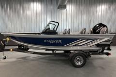 ShoreLand'r Trailer of a 2020 Smoker Craft 172 Explorer Fish And Ski Boat