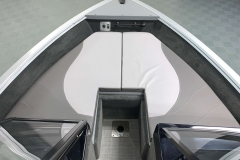 Removable Bow Cushions of a 2021 Smoker Craft 172 Explorer Fish And Ski Boat