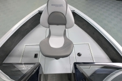 Bow Fishing Chair of a of a 2021 Smoker Craft 172 Explorer Fish And Ski Boat