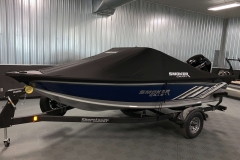 Dowco Cover of a 2021 Smoker Craft 172 Explorer Fish And Ski Boat