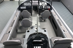 Cabin Layout of a 2021 Smoker Craft 172 Explorer Fish And Ski Boat