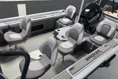 Interior Layout of a 2020 Smoker Craft 172 Explorer Fish And Ski Boat 1
