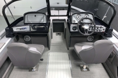 Walk Through Windshield of a 2021 Smoker Craft 172 Explorer Fish And Ski Boat