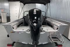 Mercury 150HP Motor of a 2020 Smoker Craft 182 Explorer Fish And Ski Boat