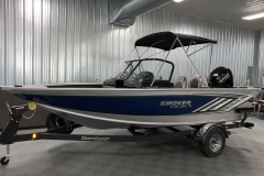 Fisherman's Top of a 2020 Smoker Craft 182 Explorer Fish And Ski Boat