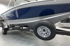 Spare Tire of a 2020 Smoker Craft 182 Explorer Fish And Ski Boat