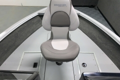 Bow Fishing Chair of a 2020 Smoker Craft 182 Explorer Fish And Ski Boat