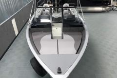 Interior Bow Layout of a 2020 Smoker Craft 182 Explorer Fish And Ski Boat