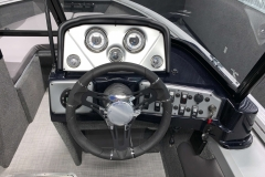 Helm Dash of a 2020 Smoker Craft 182 Explorer Fish And Ski Boat