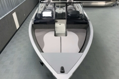 Interior Bow Layout of a 2020 Smoker Craft 182 Explorer Fish And Ski Boat