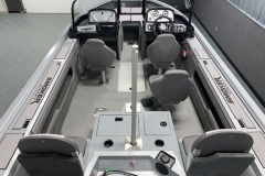 Interior Cabin Layout of a 2020 Smoker Craft 182 Explorer Fish And Ski Boat