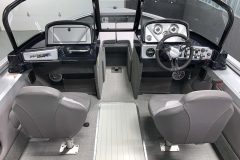 Walk Through Windshield of a 2020 Smoker Craft 182 Explorer Fish And Ski Boat