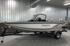 ShoreLand'r Trailer of a 2020 Smoker Craft 182 Explorer Fish And Ski Boat