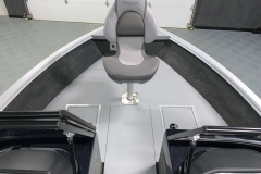 Bow Fishing Chair of a 2020 Smoker Craft 182 Pro Mag Fishing Boat