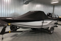 Dowco Cover of a 2020 Smoker Craft 182 Pro Mag Fishing Boat