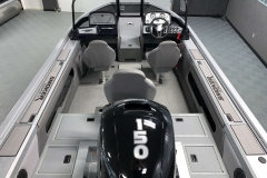 Interior Cabin Layout of a 2020 Smoker Craft 182 Pro Mag Fishing Boat